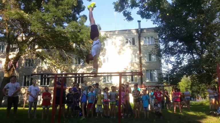 3 августа состоялся воркшоп по Workout для детей детского дома г.Тирасполь
