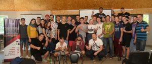 Общая фотка с волонтерами