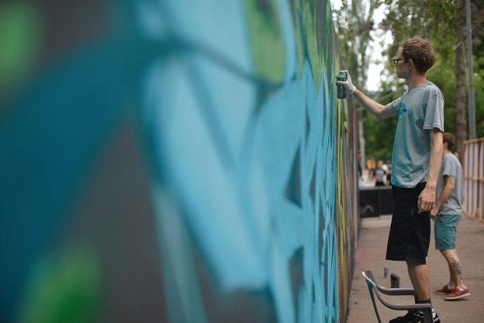 """Состоялось первое мероприятие Фестиваля """"Urban Generation"""" г. Кишинев 19 Мая 2018 г."""