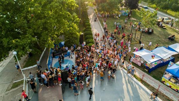 Фестиваль «Urban Generation» состоялся 5 августа на площадке скейт-пакра центральной набережной г. Тирасполя