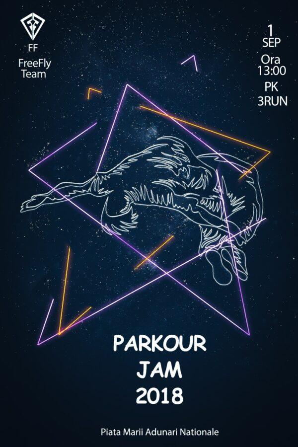 Parkour Jam 1 Сентября г. Кишинев 13.00 Piața Marii Adunări Naționale